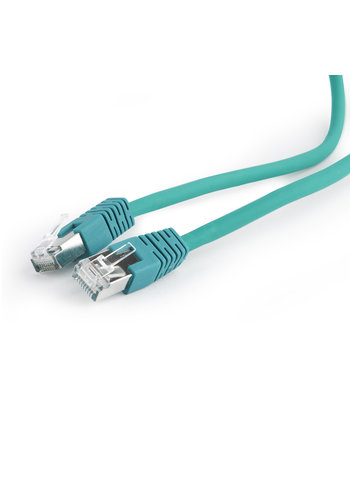 Cablexpert S/FTP Cat6A patchkabel LSZH, groen, 5 meter