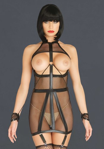 Leg Avenue Bondage Garter Dress