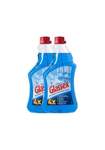 Glassex Glas & Multi - navulling - 6x750 ml