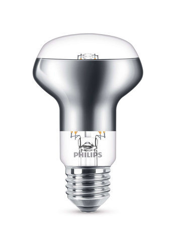Philips E27 R63 LED Spot 4.5W=42W Warmwit 2700K
