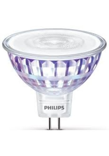 Philips GU5.3 LED-spot glas koel wit 7W (50W)