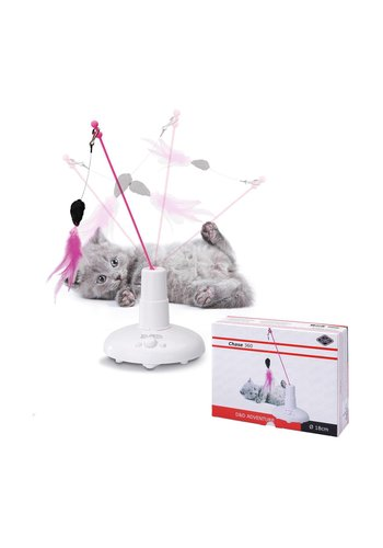 D&D Katzenspielzeug - Weiß - 18x6x25 cm