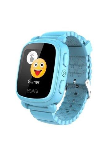 Elari Smartwatch voor kinderen met GPS / LBS locator - blauw