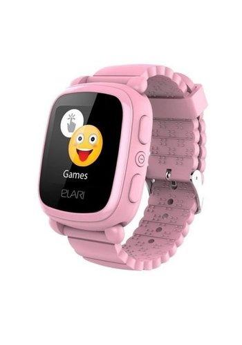 Elari SmartWatch pour enfants avec localisateur GPS / LBS - rose