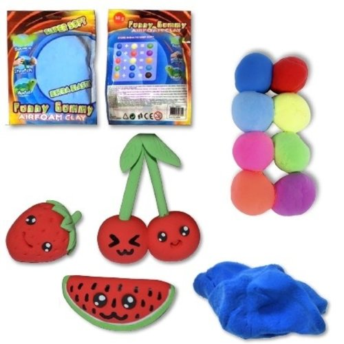 Funny Gummy Superclay - 60 Gramm - sortiert