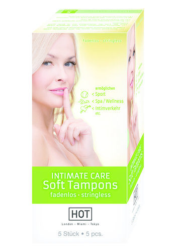 Hot Intimate Care Soft Tampons 5pcs