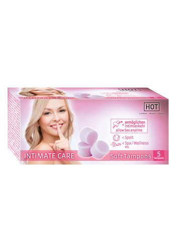 Hot IntimateCare Soft Tampon 5pcs