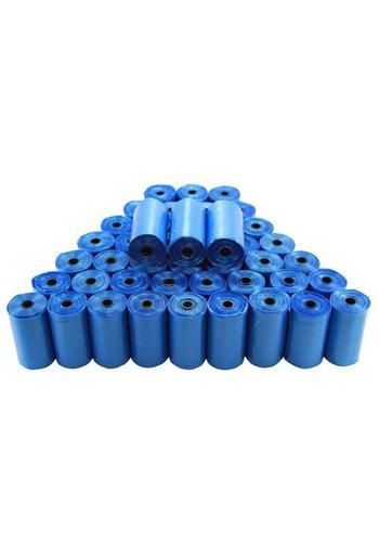 Neckermann Sacs de merde - 10 rouleaux - bleu
