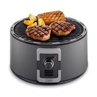 Draagbare barbecue op houtskool