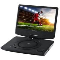 Tragbarer DVD-Player - 9 Zoll - Schwarz