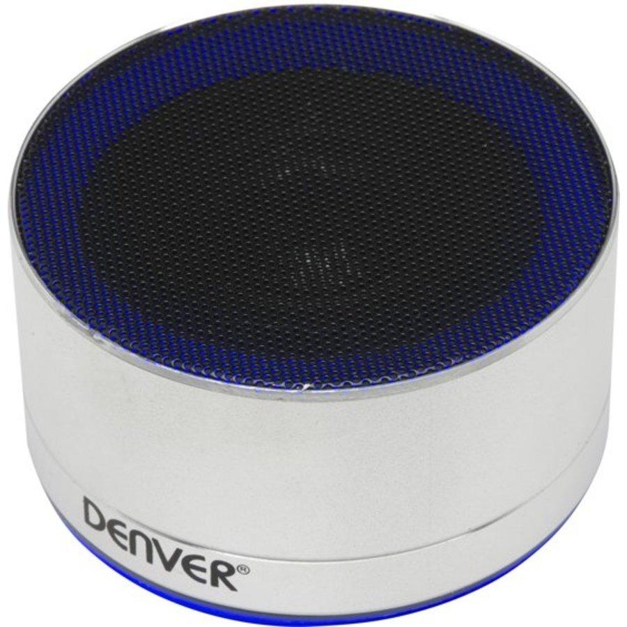 Draadloze bluetooth speaker - silver