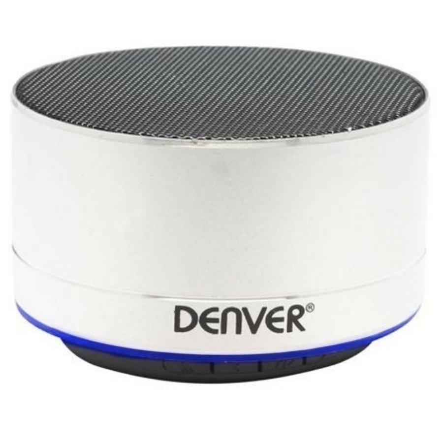 Kabelloser Bluetooth-Lautsprecher Silber