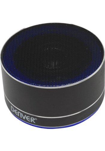 Denver Electronics kabelloser Bluetooth-Lautsprecher schwarz