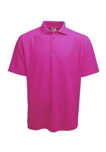 Lemon & Soda Polo Damen Kurzarm Pink