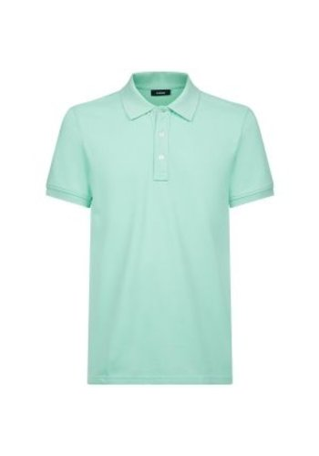 Lemon & Soda Polo Damen Kurzarm eisgrün