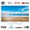 EAS Electric Smart TV LED WIFI HD READY 24 pouces, blanc