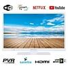 "EAS Electric Smart TV LED 32 ""81cm WIFI HD READY Weiß"