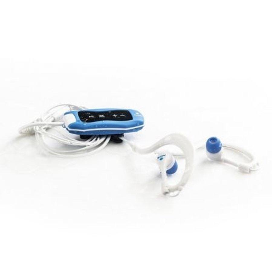 Blaue Algen wasserdicht MP3-Player blau zum Schwimmen