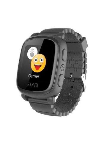 Elari Smartwatch voor kinderen met GPS / LBS locator zwart