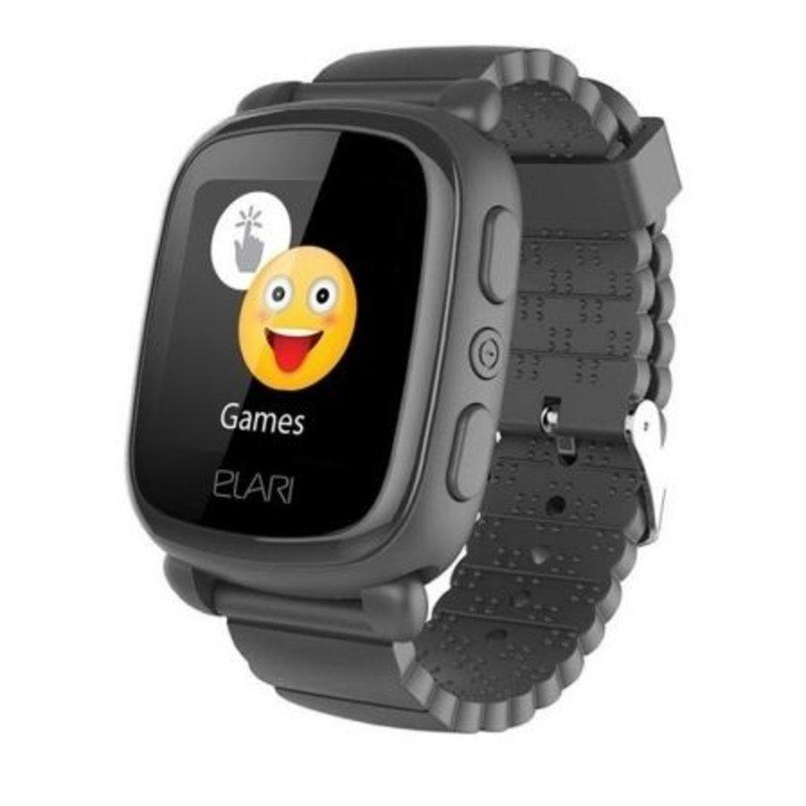 SmartWatch pour enfants avec localisateur GPS / LBS noir