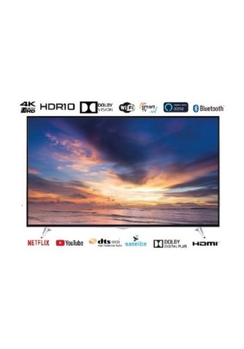 """EAS Electric Smart TV 65"""" 165cm + WiFi Ultra HDD 4k Dolby Vision"""