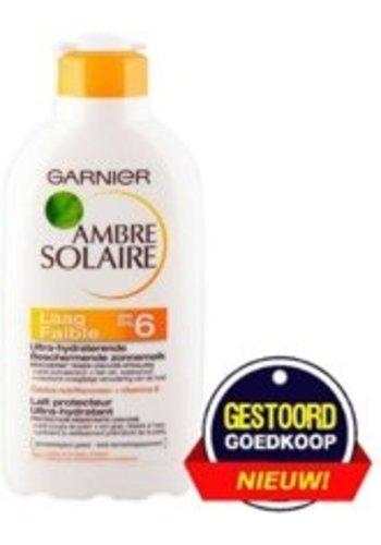 Garnier Ambre Solaire Zonnemelk SPF 6 - 200 ml