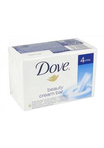 Dove Zeep Beauty Cream Original - 4 stuks