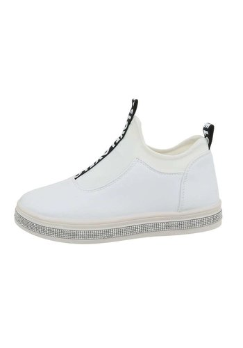 Neckermann Dames laag witte sneakers