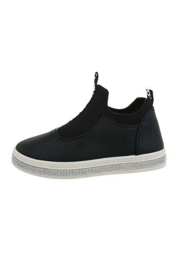 Neckermann Dames laag zwart sneakers