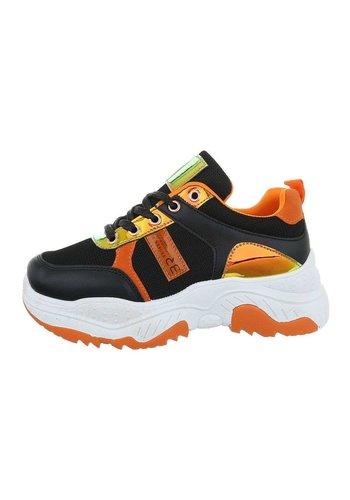 Neckermann Chaussures de sport pour femme noir jaune