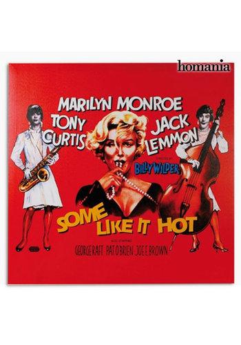 3198 Marilyn Monroe Certains L'aiment Chaud Affiche
