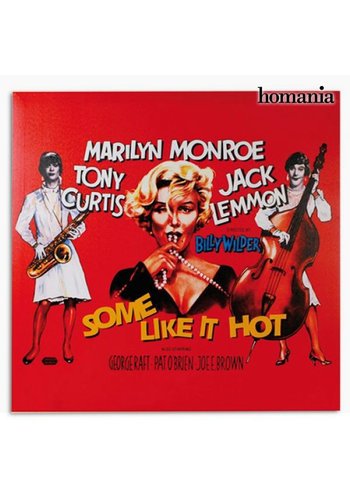 3198 Marilyn Monroe Some Like It Hot Poster