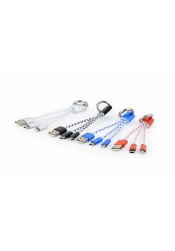 Cablexpert Sleutelhanger combo-oplaadkabel