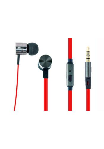 GMB-Audio Headset mit Mikrofon und Lautstärkekontrolle, 'Porto'