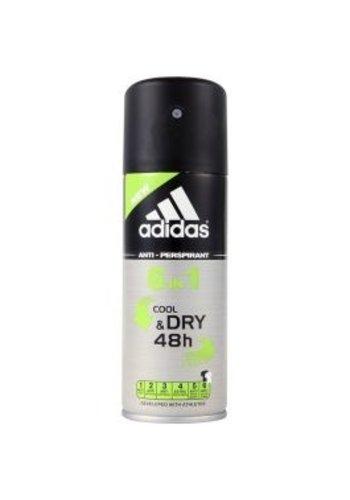 Adidas Deospray - 6 IN 1 Cool & Dry - 150 ML