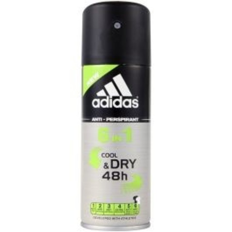 Deospray - 6 IN 1 Cool & Dry - 150 ml