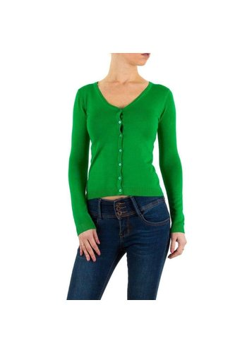 Neckermann dames vest one size Groen