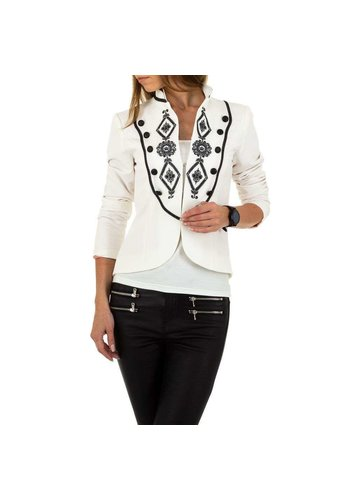 Neckermann dames blazer wit 	KL-JW249