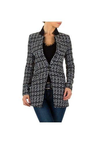 Neckermann veste femme noir / blanc KL-MU-1032