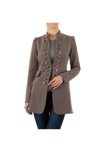 Neckermann veste femme taupe KL-J246