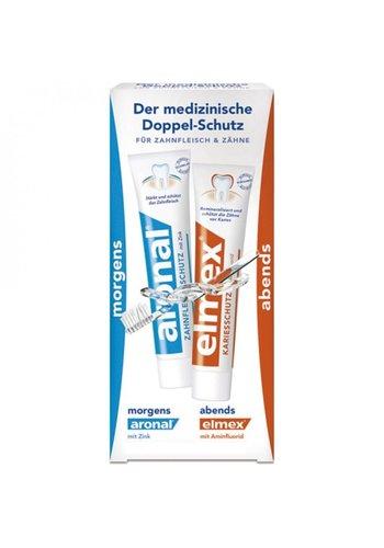 Elmex Dentifrice - 2x12 ml