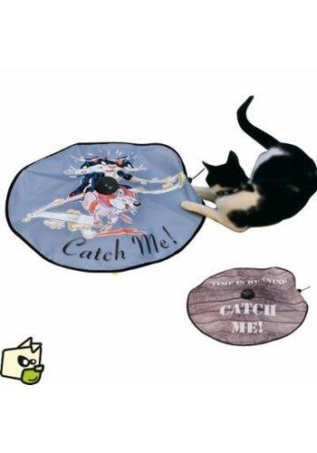 D&D Katz und Maus Spiel - 60 cm - blau
