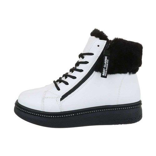 Neckermann Damen High-Sneakers - white