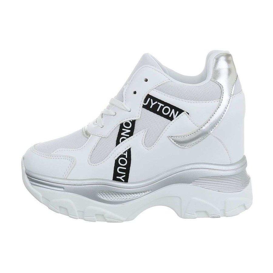 dames baskets salut blanc 99032