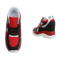 dames baskets salut rouge 99032