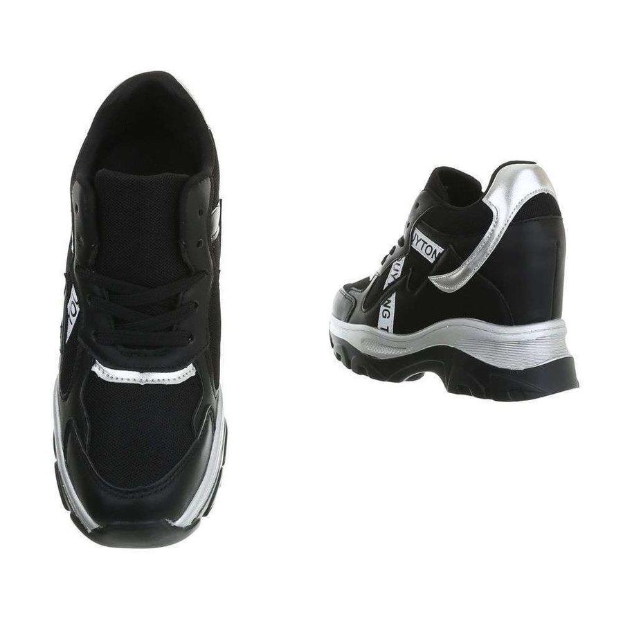 baskets pour dames noir 99032