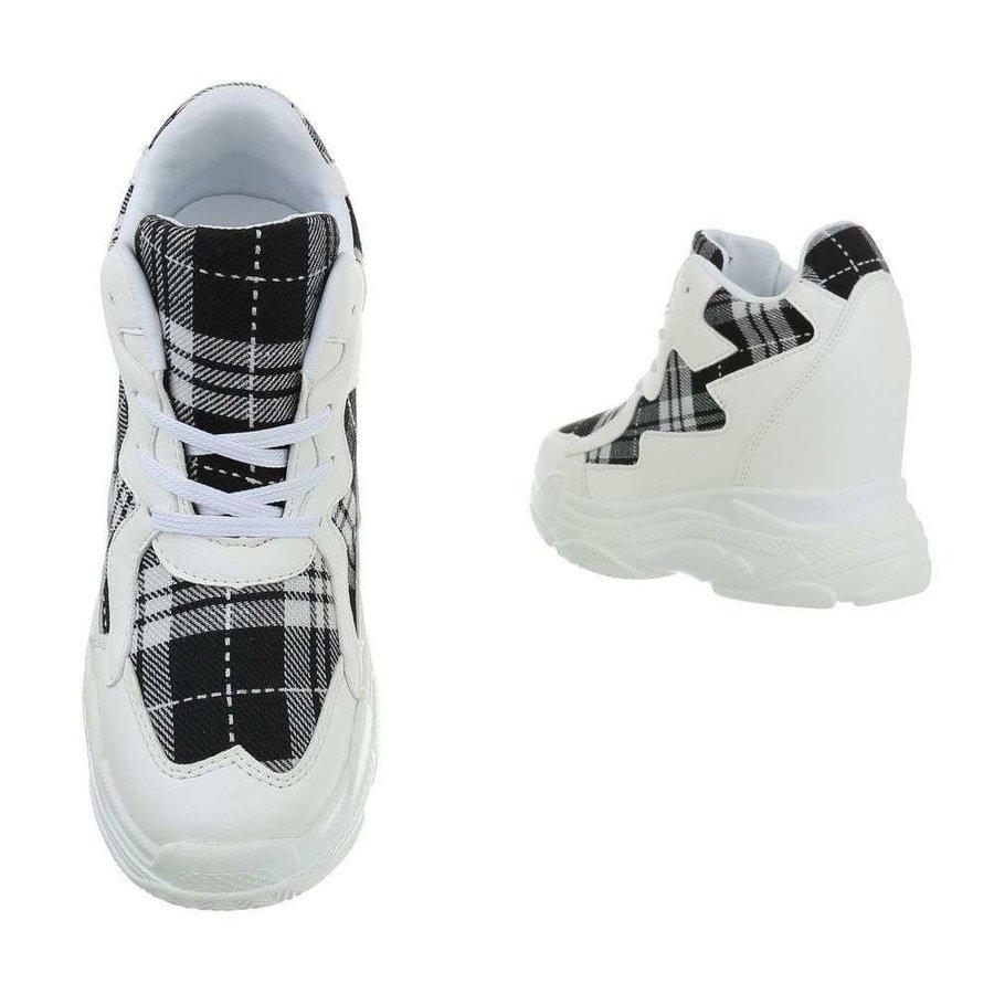 dames sneakers hi grijze BL1530