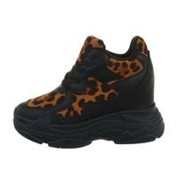 dames sneakers hi camel BL1529