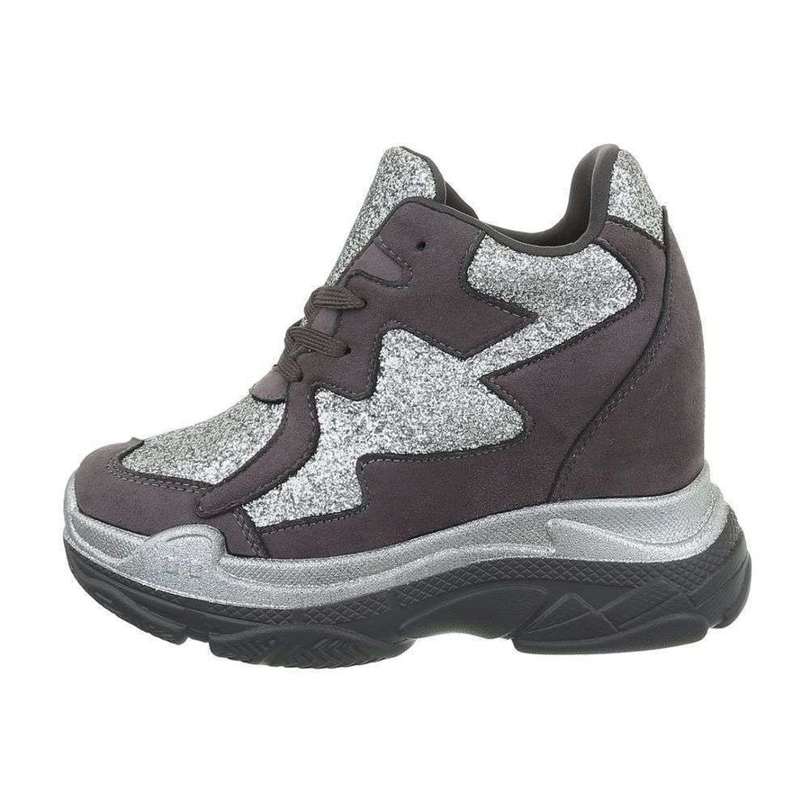 dames sneakers hi grijze BL1528