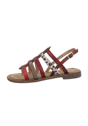 Neckermann Damen Flash Sandalen rot 616-2